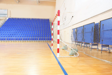Siatki na hale sportowe