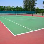 Piłkochwyty do kortów tenisowych