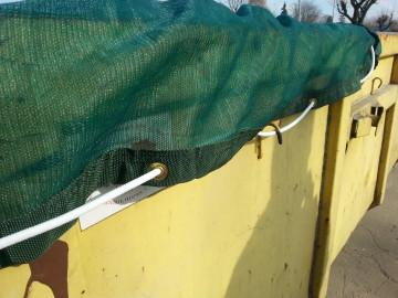 Siatki zabezpieczające na kontenery
