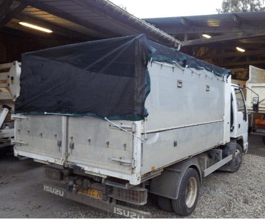 Siatka zabezpieczająca na kontenery sieci-siatki