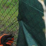 Siatka maskująca na ogrodzenie i płot. Zalety jej stosowania